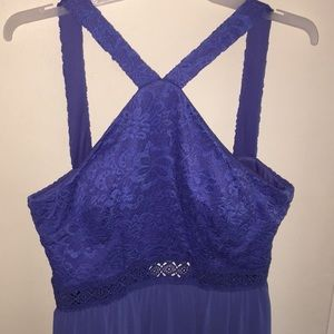 BCX Halter Prom Dress